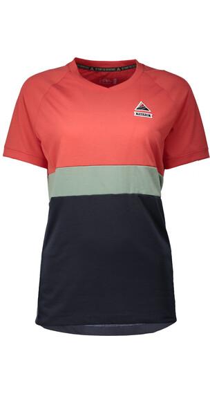 Maloja W's GrassauM. Multi Short Sleeve Multisport Jersey Vintage Red